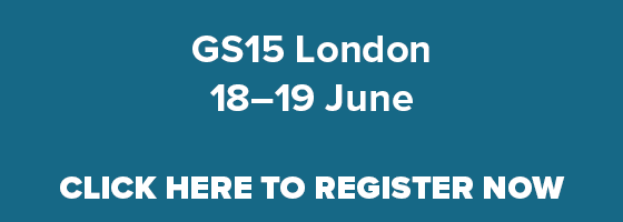 Click here to register for GS15 London
